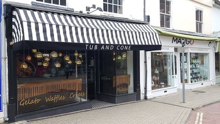The Tub and Cone will open later this month in Colchester Picture: RACHEL EDGE