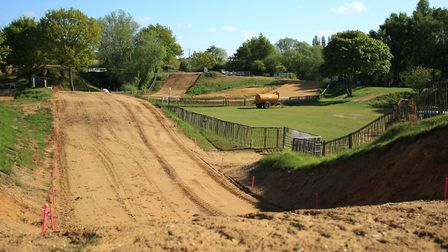 The Blaxhall circuit, home to the Maxxis ACU British Motocross Championship, round four, on Sunday,