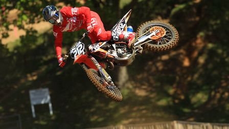 Braintree's Ben Clark will be in action at Blaxhall. Ben rides for the RFX Tec41 KTM team in the MX2