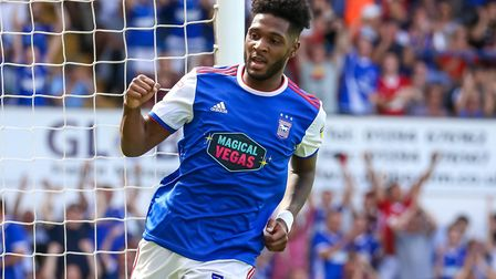 Ellis Harrison is close to joining Portsmouth. Photo: Steve Waller