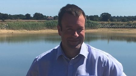 NFU vice president Stuart Roberts who will be in Suffolk at the end of June for a health and safety