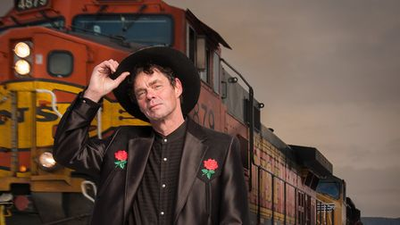 Rich Hall will be exploring his Americana roots with his musical hoe-down at this year's Maverick Fe