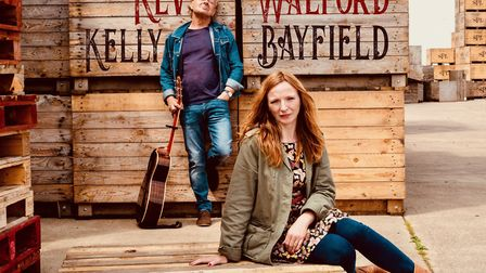 Kev Walford + Kelly Bayfield who are appearing at the Maverick Festival at Easton Farm Park, July 20