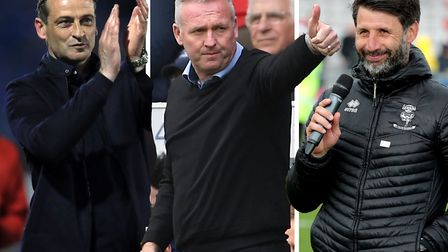 Sunderland's Jack Ross, Paul Lambert's Ipswich and Danny Cowley's Lincoln are all among the bookies'