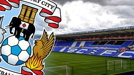 Coventry City are set to groundshare with Birmingham next season. Picture: PA
