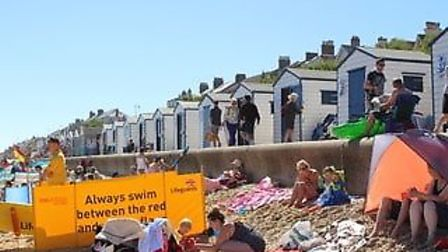 Southwold Beach Huts are right on the cost of Southwold, perfect for a day in the suffolk sunshine P