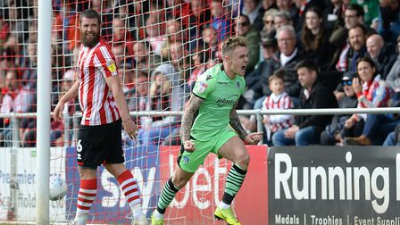 Sammie Szmodics signs off his Colchester United career by scoring twice on the final day of last sea