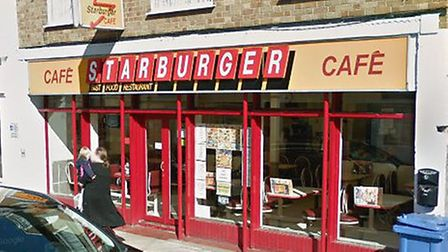 Starburger in North Street Sudbury was also targeted Picture: GOOGLE MAPS