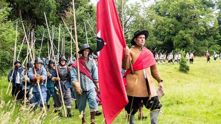 Groups from across Suffolk, including the Hoptons Regiment, are excited to be taking part in History