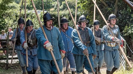 The Hoptons Regiment are excited to be taking part in History Alive Picture: GIDEON TOZER
