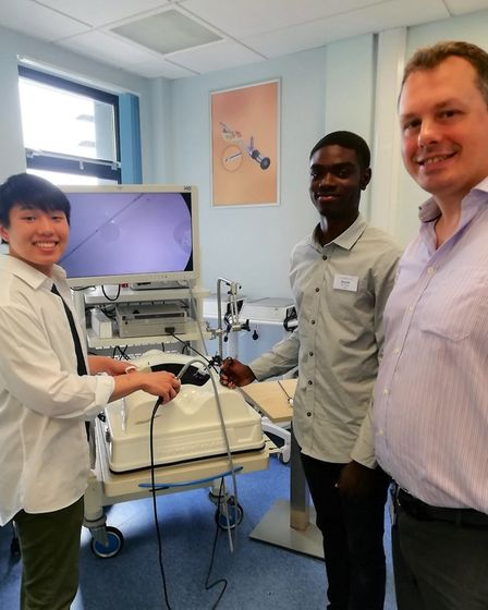 The East Suffolk and North Essex NHS Foundation Trust careers event for aspiring doctors. Picture: E