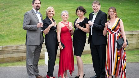 The team from Wangford Veterinary Clinic at the Suffolk Business Awards. Picture: Sarah Lucy Brown