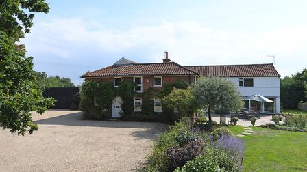 The Granary, Hasketon, has a guide price of �1.1million. Picture: RUFUS OWEN, FULL ASPECT