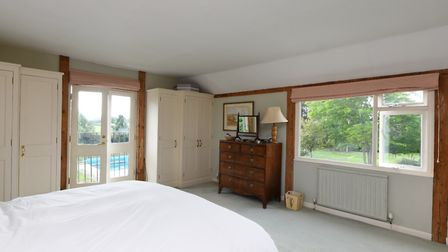 A bedroom at The Granary, Hasketon, near Woodbridge. Picture: RUFUS OWEN, FULL ASPECT