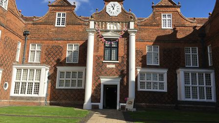 Christchurch Mansion is at the heart of the park, which has been shortlisted for an award. Picture: