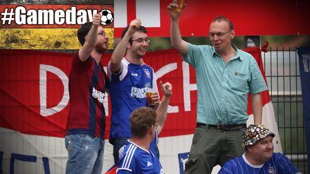 Ipswich Town faced Paderborn in Delbruck on Saturday. Picture: ROSS HALLS