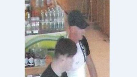 Do you recognise these men? If you do, call Essex police on 101 Picture: ESSEX POLICE