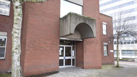 Ipswich Magistrates Court, where Ashton Roberts, 26, of Millersdale in Harlow was banned from drivin