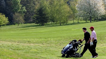 The event takes places at Hintlesham Golf Club Picture: Archant