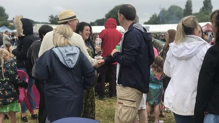 Thousands of people enjoyed the Bardwell festival this weekend. Picture: VICTORIA PERTRUSA