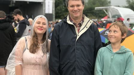 The Bardwell Festival was a family friendly event. Picture: VICTORIA PERTRUSA