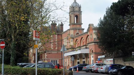 The incident happened at Bury St Edmunds railway station Picture: ARCHANT