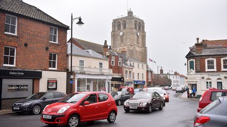 Beccles Town Center, Suffolk. PICTURE: Jamie Honeywood