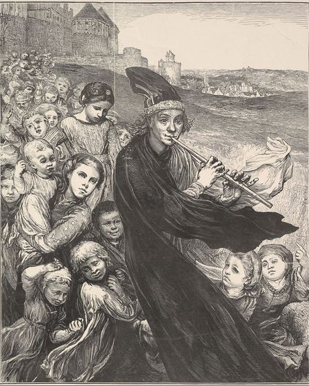 The Pied Piper of Hamelin by Henry Marsh, 1868. Picture: Rogers Fund, 1921