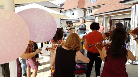 The 100th birthday party was held at Mistley Manor in Manningtree Picture: RACHEL EDGE
