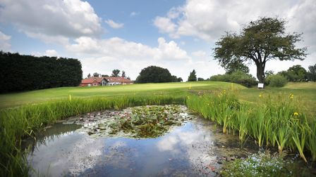Waldringfield Golf Club has plans to build 58 holiday chalets Picture: SARAH LUCY BROWN