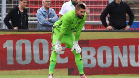 Bartosz Bialkowski pictured during the Interwetten Cup Picture: ROSS HALLS