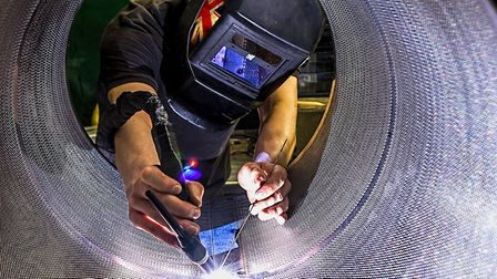 Suffolk manufacturing firms are seeing falling domestic sales, according to a survey Picture: ROB W