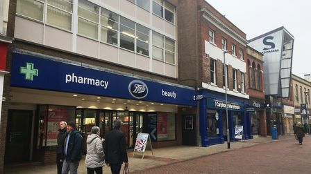 Ipswich failed to get anything from the government's High Street fund. Picture; PAUL GEATER