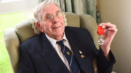 An inquest into the death of D-Day hero, Fred Buckle has opened at Suffolk Coroner's Court. Picture: