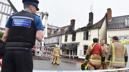 The fire caused �1.8m worth of damage. Picture: Nick Butcher
