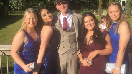Year-11 students at Castle Manor Academy in Haverhill celebrated their prom at Chilford Hall. Pictur