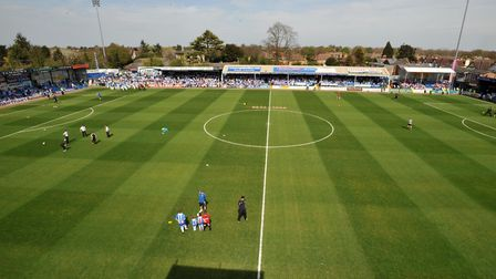 Colchester United's former Layer Road home, which was never a very happy hunting ground for Ipswich