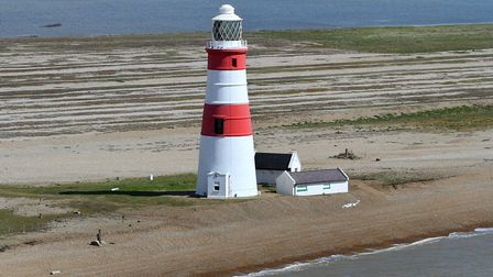 Orfordness Lighthouse 2015 Picture: MIKE PAGE