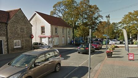 King Street in Mildenhall is closed Picture: GOOGLE MAPS