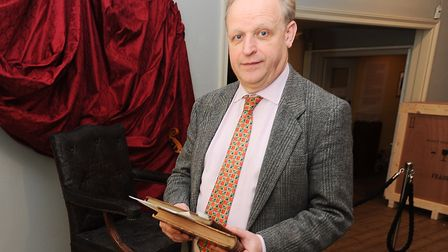 Mark Bills of Gainsborough's House Picture: GREGG BROWN