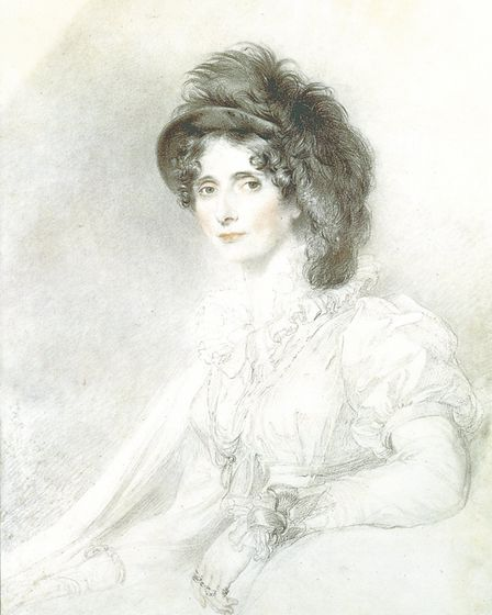 Elizabeth, Duchess of Devonshire by Lawrence Picture: GAINSBOROUGH'S HOUSE