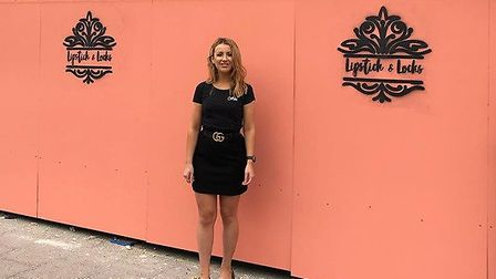 Abigail Cutter, 25, the owner of the new Lipstick & Locks set to open in Sudbury this autumn. Pictur