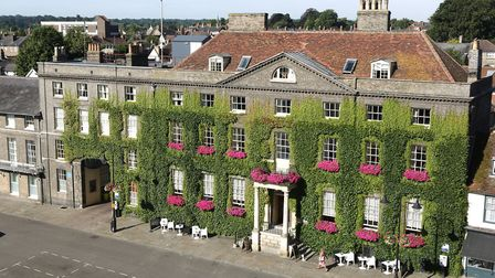 The Angel Hotel is one of Bury St Edmunds' most famous and attractive buildings. Picture: THE ANGEL