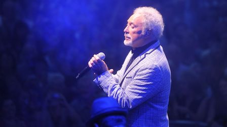 Sir Tom Jones will be performing at Colchester Castle Park on Sunday. Picture: ARCHANT
