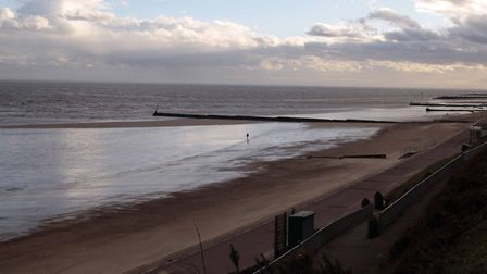 Clacton beach. Picture: Nige Brown.