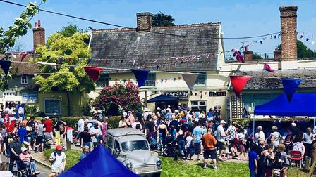 Palmers Bakery, in Haughley, threw a huge party to celebrate their 150th birthday Picture: KIERON PA