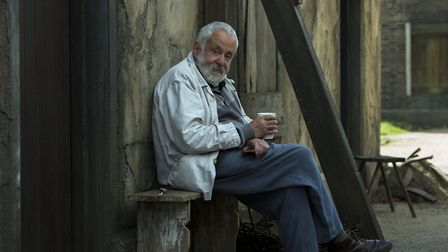 Mike Leigh on the set of Peterloo. Picture: SIMON MEIN/THIN MAN FILMS