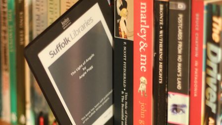 The number of eBooks and eAudiobooks being loaned from Suffolk's libraries are increasing Picture: S