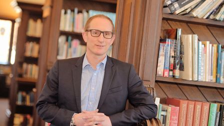 Bruce Leeke chief executive of Suffolk Libraries Picture: SARAH LUCY BROWN