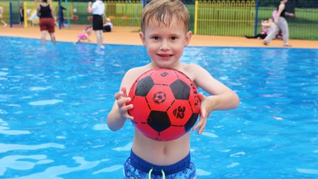 Splash parks at Bourne Park in Ipswich and Martello Park in Felixstowe will be popular in the school